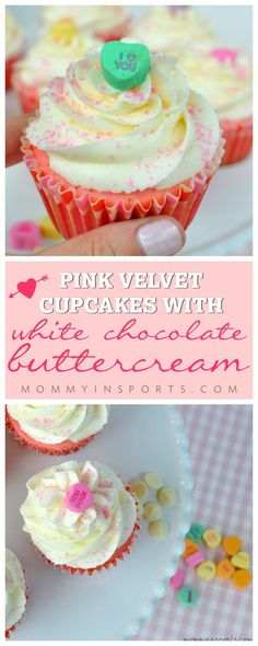 Looking for the perfect treat for your sweeties? Make these decadent Pink Velvet Cupcakes with White Chocolate Frosting this Valentine's Day and bask in the smiles! An easy recipe anyone can master!