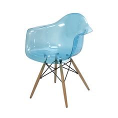 Acrylic Montmartre Armchair in Teal. For my vanity one day