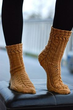 Mystery Socks 09 by throughtheloops, via Flickr