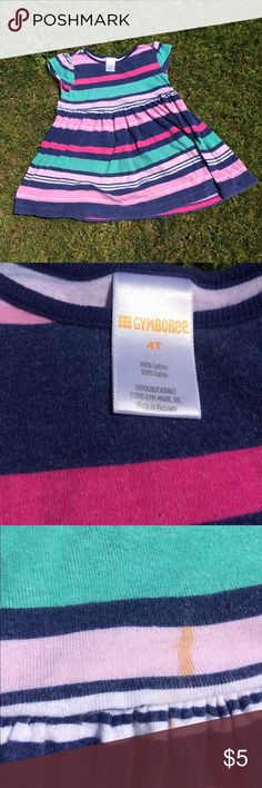 Gymboree Dress There is a stain on the front. Price reflects it! Gymboree Dresses Casual