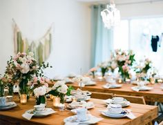 Bowtie + Tea Party Baby Shower - Inspired By This