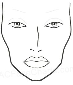 face chart free for print - Google zoeken