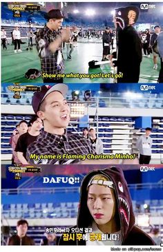 Song Minho is secretly a fan of Choi Minho.... XD | allkpop Meme Center