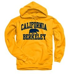116d9efc2cf UC Berkeley University Of California Berkeley Bold Arch Sweatshirt - Gold.  Shop College Wear