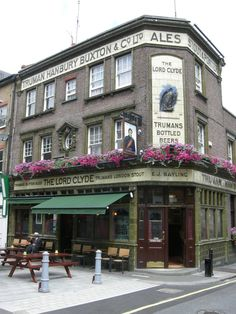 The Lord Clyde Pub  is a real London gem, frequented mostly by old timers and locals.  The pub has been owned by born and bred Londoners for three generations.  Old traditional pub with fireplace nice old boozer for a couple of pints. An inn has stood on his spot for over 300 years.  Located at 27 Clennam Street, London SE l