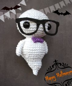⬇ TUTORIAL hipster ghost soft toy