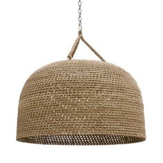 GREEN OAKS OVERSIZED PENDANT, NATURAL
