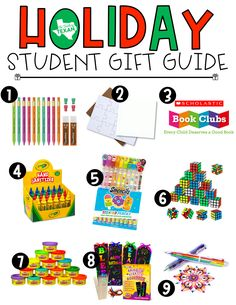 Wondering what to get your students for the holidays? While gifts are certainly not necessary, if you're already planning a gift and need some ideas you've got to check out this gift guide!