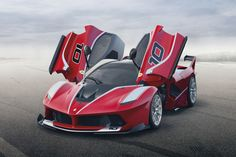 Ferrari Unveils the 1,035HP Track-Only FXX K