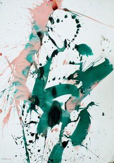 Dancing by Franz Grabmayr Sam Francis, Dancing, Paintings, Ceramics, Abstract, Fall, Artwork, Ceramica, Summary