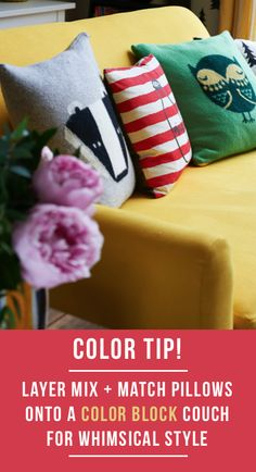 Get lots of more tips from the Bright.Bazaar book http://www.amazon.com/Bright-Bazaar-Embracing-Color-Make-You-Smile/dp/1250042011/ref=sr_1_1?s=books&ie=UTF8&qid=1444500637&sr=1-1&keywords=bright+bazaar