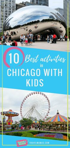 Activities in Chicago with Kids. Chicago is a fun family travel destina.Best Activities in Chicago with Kids. Chicago is a fun family travel destina. Chicago Vacation, Chicago Travel, Family Vacation Destinations, Vacation Spots, Travel Destinations, Vacation Ideas, Chicago Trip, Chicago Illinois, Vacation Movie