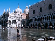 St Marco's Square in Venice
