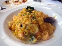 seafood risotto from Il Fornaio