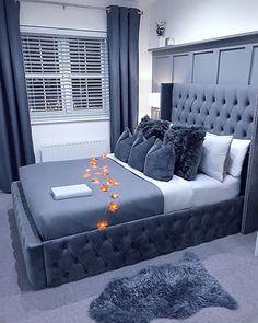 Cute Bedroom Ideas, Room Ideas Bedroom, Home Decor Bedroom, Fancy Bedroom, Dream Rooms, Luxurious Bedrooms, My New Room, Room Inspiration, Decoration