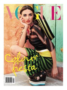 Vogue 2011 March Australia  On Trend - Brights, Uptown Gypsy, High Wedge.