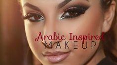 Çekici Arap Göz Makyajı Uygulaması - Özel günler veya gece için yapabileceğiniz çekici ve çarpıcı arap göz makyajı tekniği (Arabic Inspired Makeup Tutorial Video)
