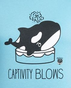 This tee, featuring an Orca whale, lets you know that life in captivity is no life at all. Made of pre-shrunk, 100% combed, ring spun cotton makes it super soft and comfy. This shirt is contoured and