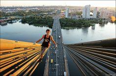 13 fotógrafos de vértigo | Rooftoppers y Skywalkers Kirill Oreshkin