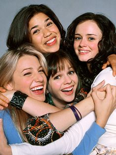 The Sisterhood of the Traveling Pants (2005) Blake Lively, America Ferrera, Amber Tamblyn, and Alexis Bledel