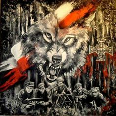 Wolf Tattoo Design, Tattoo Designs, Poland Hetalia, Fighting Tattoo, Poland Ww2, Polish Tattoos, Future Tattoos, I Tattoo, Tatoos