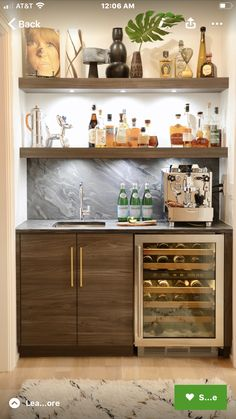 """Explore our site for even more relevant information on """"bar cart decor ideas"""". It is a superb area to get more information. Home Wet Bar, Diy Home Bar, Modern Home Bar, Home Bar Decor, Home Decor Kitchen, Bars For Home, Kitchen Design, Basement Bar Designs, Home Bar Designs"""