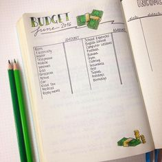 Decided to get on top of my finances this month. Made a Budget list and an…