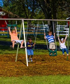 Look at this Flexible Flyer Shoe-Loop Swing Fun Fantastic Play Set on #zulily today!
