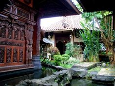 Combination of Balinese and Javanese style... superb design!
