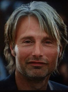 Mads Mikkelsen.......now, just how is this man this adorable???????????