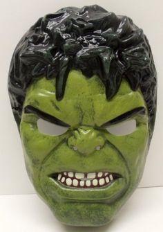 Avengers Universal Size Kids Incredible Hulk Halloween Dress Up Costume Mask by Halloween Masks. $8.99