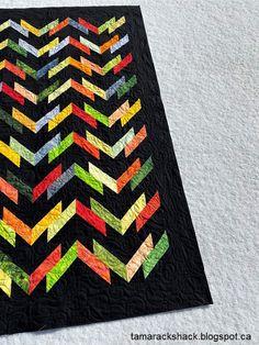 Tamarack Shack: Washboard Road in Hoffman Batiks Quilt Making, Pattern Design, Quilts, Blanket, Comforters, Blankets, Quilt Sets, Shag Rug, Log Cabin Quilts
