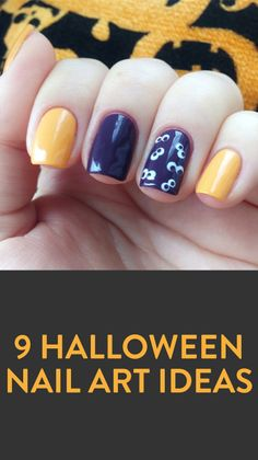 9 Halloween Nail Art Ideas