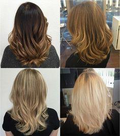 mid-length U-haircuts for thick hair
