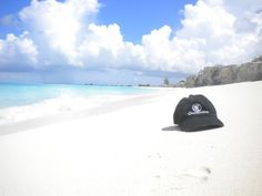 Deb K. with her Castaway hat in the Turks and Caicos Islands. Great shot!