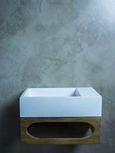 Toiletmeubel Gili Solid Surface Fontein