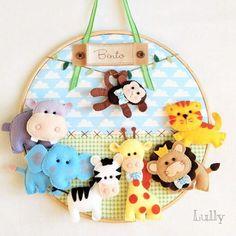 Baby Boy Room Decor, Baby Bedroom, Baby Boy Rooms, Felt Crafts, Crafts To Make, Diy Crafts, Kit Bebe, Bridal Mehndi Designs, Flower Crafts