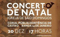 Concerto de Natal inédito marcado para 20 de Dezembro na Igreja de São Domingos