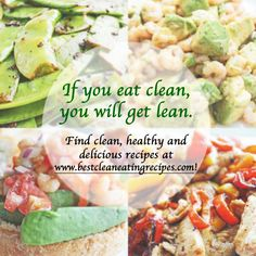 It's time to stop enslaving yourself to food. If you eat clean, you will get lean! Find clean and healthy ideas at www.bestcleaneatingrecipes.com! #fitfam #cleaneating #eatclean #lowcarbrecipes #healthyrecipes