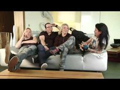 Apocalyptica - Most Embarrassing Musical Favorite - Interview Cello, Crowd, Musicals, Short Hair Styles, Interview, Channel, Told You So, Jokes, Heart