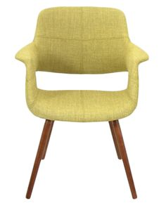 "I like the mid-mod feel of this chair.  Plus I'm only 5' 2"" so it looks comfortable for a petite person. Lumisource Vintage Flair Dining Chair"
