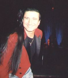 Steve Perry's hair and tails : )