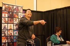 Johnny Yong Bosch Hal-Con 2014 - photo credit Dan Miner