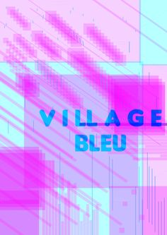 The blue Village by blxck on @creativemarket