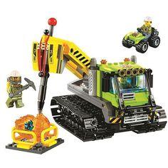 23.50$  Buy here - http://aliftp.shopchina.info/1/go.php?t=32814591969 - Bevle 10639 Bela City Series Volcano Crawler Geological Prospecting Building Block Bricks Toys Gift For Children 60122  #aliexpress