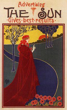 Louis Rhead. Art Nouveau (1891)