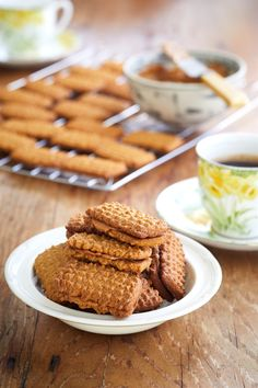 Biscuit Bar, Angle Food Cake Recipes, Cookie Recipes, Dessert Recipes, Bread Recipes, Coffee Biscuits, Baking Biscuits, South African Desserts, Cookies