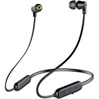 Infinity(JBL) Glide Ultra Lightweight in-Ear Wireless Neckband with Dual EQ Deep Bass and Sweatproof (Charcoal Black) Best Buy Headphones, Headphone With Mic, Charcoal Black, Bass, Cool Things To Buy, Infinity, Bluetooth, Deep