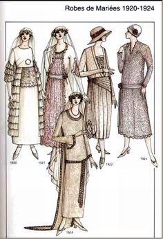 Robes de mariées diverses