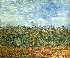 Vincent van Gogh, Wheat Field with a Partridge, 1887
